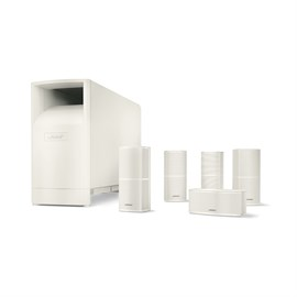 Bose Acoustimass® 10 Series V Home Theater Speaker System Beyaz