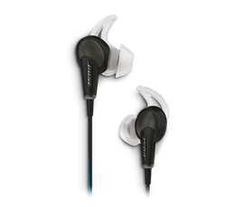 QC20 HEADPHONE SMSG BLK WW  Bose QuietComfort® 20 Acoustic Noise Cancelling® headphones — Samsung and Android™ Devices